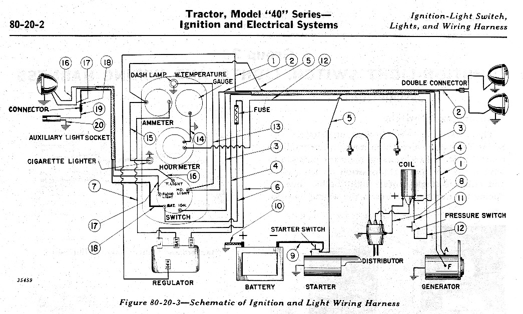 40 Electrical wiring diagram for a john deere 6400 the wiring diagram fordson super major wiring diagram at creativeand.co